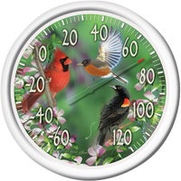 "6774 Taylor 13.25"" Dial Indoor And Outdoor Thermometer 90007-217, Taylor 13.25"" Dial Indoor And Outdoor Thermometer"