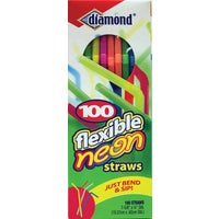 4142634158 Diamond Flexible Neon Straw 41426-34158, 41426-34158 Neon Flex Neck Straw