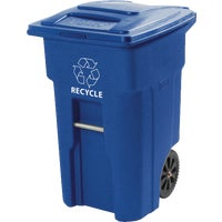 025564-D5BLU Toter Recycling Trash Can 025564-D5BLU, Toter Recycling Trash Can