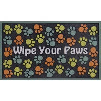 730-4016F Apache Wipe Your Paws Door Mat door mat