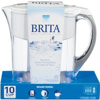 "42556 Brita Grand Water Filter Pitcher 601706, Wide Span Rack 60""W x 36""D x 84""H With 3 Shelves No Deck 1200 Lb Capacity Per Level"
