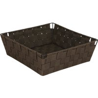 748134-BR Home Impressions Woven Storage Basket basket storage