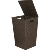 748115-BR Home Impressions Woven Laundry Hamper