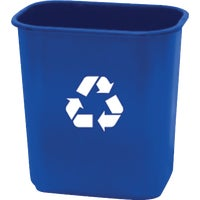 WB0084/12 United Solutions 28 Quart Recycling Office Wastebasket recycle wastebasket