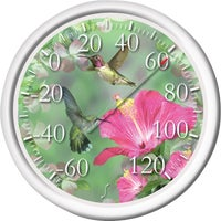 6708N Taylor Image Gallery Hummingbird Dial Outdoor Wall Thermometer 6708N, Image Gallery Hummingbird Dial Outdoor Wall Thermometer