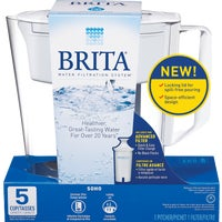 36089 Brita Soho Water Filter Pitcher 36089, Brita Soho Water Filter Pitcher