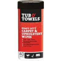 TW40-CP Tub O Towels Carpet/Upholstery Scrubbing Wipes TW40-CP, Tub O Towels Carpet/Upholstery Scrubbing Wipes
