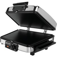 G48TD Black & Decker 3-In-1 Electric Grill - Griddle - Waffle Maker electric griddle