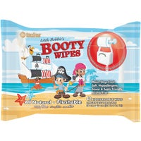 LBB301 Sterling Little Bobbys Booty Wipes