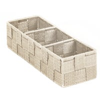 713501-BE Home Impressions Woven Storage Tray storage tray