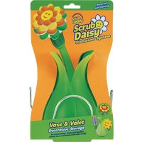 DVSEVLT6CT Scrub Daddy Scrub Daisy Vase Holder & Caddy