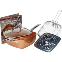 CCS Copper Chef Non-Stick Square Fry Pan fry pan