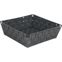 748134-GR Home Impressions Woven Storage Basket basket storage