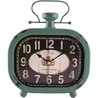 404-3425 La Crosse Clock Analog Metal Battery Operated Clock 603284, Wire Mesh Partition Security Room 30x20x8 without Roof - 2 Sides
