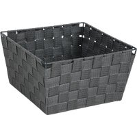 799494-GR Home Impressions Woven Storage Basket basket storage