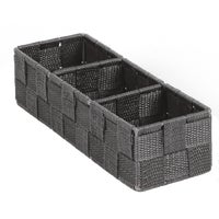 713501-GR Home Impressions Woven Storage Tray storage tray