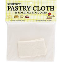 4444 Regency Pastry Cloth & Rolling Pin Cover Set 4444, Pastry Cloth And Rolling Pin Cover Set
