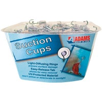 6500-74-3848 Adams Bulk Counter Display Of Suction Cups With Hook cup suction