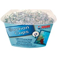 7500-77-3848 Adams Bulk Counter Display Of Suction Cups With Hook cup suction