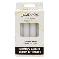 3745595 Candle-lite 4-Pack Emergency Candle candle emergency