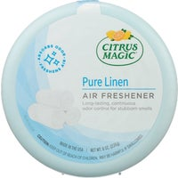 616471671-6PK Citrus Magic Solid Air Freshener 616471671-6PK, Citrus Magic Pure Linen Solid Air Freshener