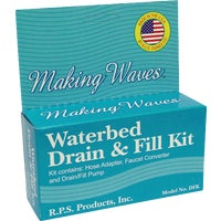 "DFK Making Waves Waterbed Drain And Fill Kit D4258AA3A1, Nashville - Wire Mesh Decking 58""W X 42""D X 1-1/2""H"