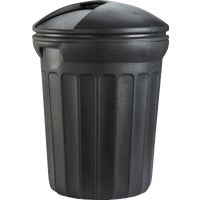TB0006 United Solutions Rough & Rugged Round Trash Can can trash