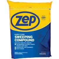 HDSWEEP50 Zep Commercial 50 Lb. Bag NonSoy Sweeping Compound commercial compound sweeping zep