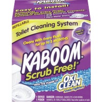 35113 KABOOM Scrub Free Automatic Toilet Cleaner System 35113, 35113 KABOOM Automatic Toilet Cleaner System