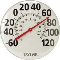 681 Taylor Metal Dial Outdoor Wall Thermometer 681, Metal Dial Outdoor Wall Thermometer