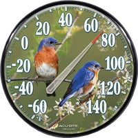 01598A1 Acu-Rite Bluebird Outdoor Wall Thermometer 01598A1, Bluebird Outdoor Wall Thermometer