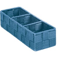 713501-BL Home Impressions Woven Storage Tray