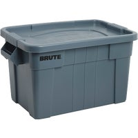 1836781 Rubbermaid Commercial Brute Storage Tote with Lid storage tote