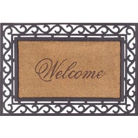 17806P4 Bacova Koko Framed Welcome Door Mat door mat