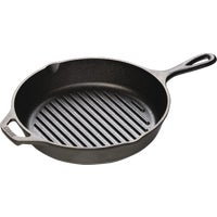 L8GP3 Lodge Cast Iron Grill Pan Skillet L8GP3, Lodge Logic Cast Iron Skillet Grill Pan