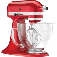 KSM155GBCA KitchenAid Artisan Series Stand Mixer With Glass Bowl mixer stand