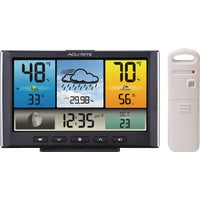 02008A2 Acu-Rite Indoor Outdoor Color Weather Station Acu-Rite Indoor Outdoor Color Weather Station