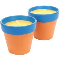 2412 Sierra 2-Pack Terracotta Citronella Candle candle citronella