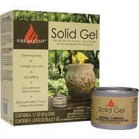 U08070001 Fire Accent Solid Gel Fuel U08070001, FIREPOT Solid Gel Fuel