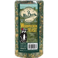 928 Mr. Bird Woodpecker Feast Wild Bird Seed Log 8001, Pine Tree Farms Woodpecker Bird Seed Log