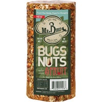 428 Mr. Bird Bugs, Nuts, & Fruit Wild Bird Seed Log 8005, Pine Tree Farms Fruitberry Nut Bird Seed Log