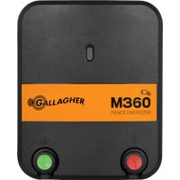 G323504 Gallagher M360 Electric Fence Charger G380504, Gallagher 85 Acre Electric Fence Charger