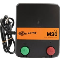 G331434 Gallagher M30 Electric Fence Charger G331414, Gallagher YardMaster 8 Acre Electric Fence Charger