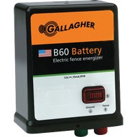 G351504 Gallager B60 Battery/Solar Electric Fence Charger G351504, Gallager 40 Acre Battery/Solar Electric Fence Charger