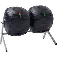 60072 Lifetime Double Bin Rotating Composter
