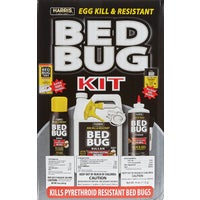 BLKBB-KIT Harris Egg Kill & Pyrethroid Resistant Bedbug Killer Kit bedbug killer