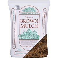 AB2BROWN Landscape Select Premium Dyed & Shredded Hardwood Mulch AB2BROWN, Landscape Select Shredded Hardwood Mulch