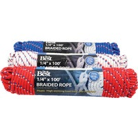 703149 Do it Diamond Braided Polypropylene Packaged Rope packaged rope