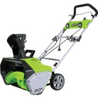 2600202 Greenworks 13A Electric Snow Blower 2600202, Greenworks 20 In. 13A Electric Snow Blower