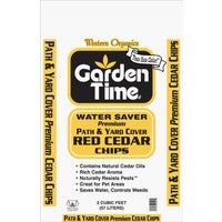 GT 00471 Garden Time Western Red Cedar Decorative Bark Mulch Chips GT 00471, Garden Time Western Red Cedar Chips Decorative Bark